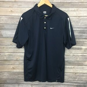Nike Navy Polo Shirt